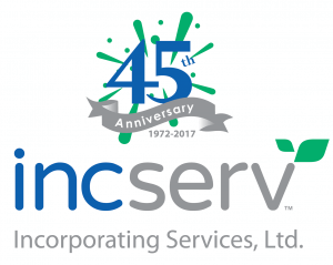 INCSERV 45TH ANNIVERSARY INCSERV 45TH ANNIVERSARY VERTICAL 300x239