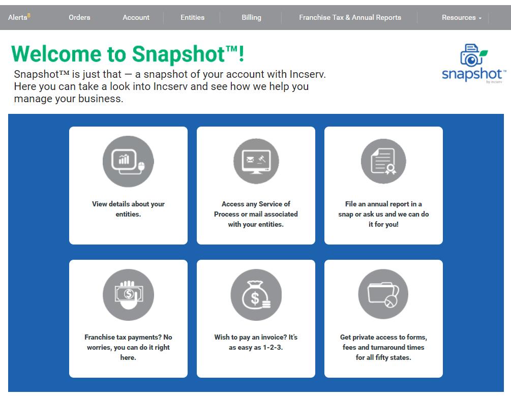 Snapshot™ snapshot 2018 1 1