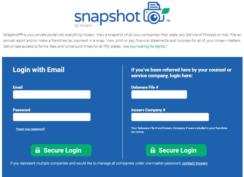 Snapshot™ snapshot 2018 1