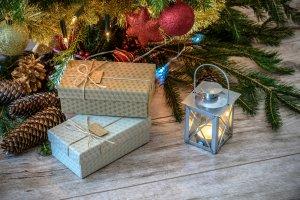 holiday balls bow boxes 237904
