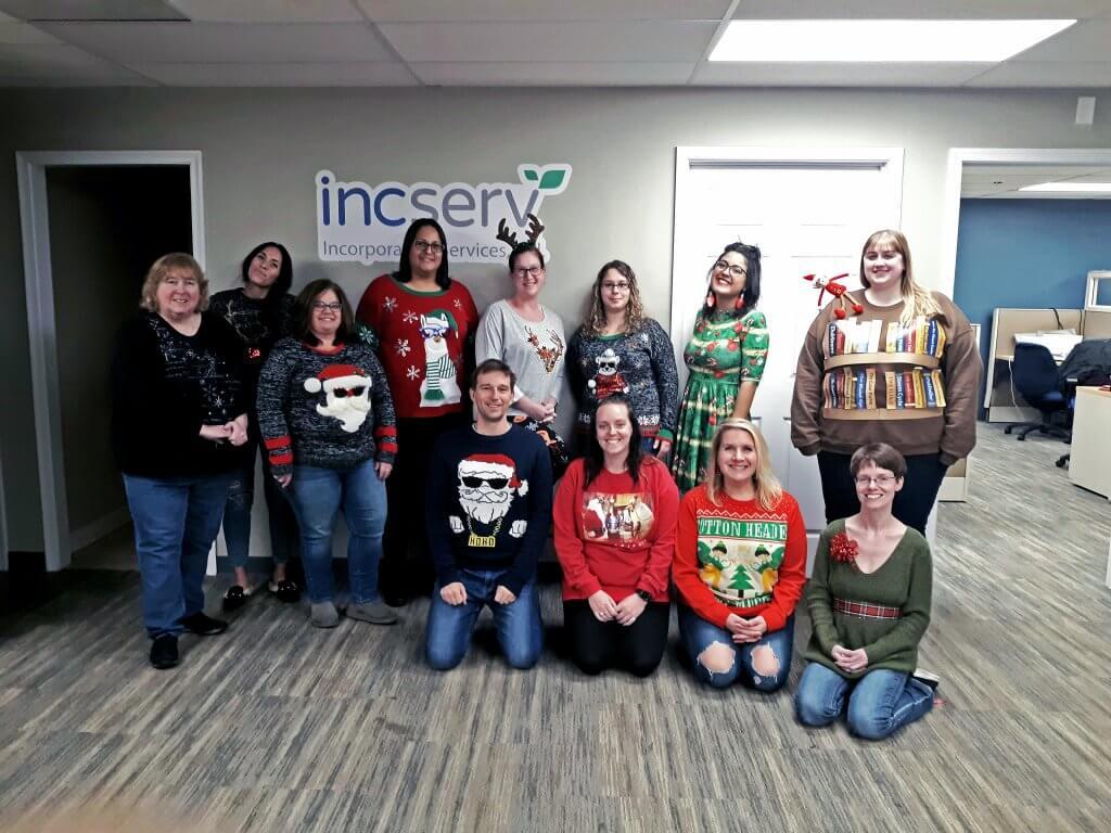 festive christmasSweater